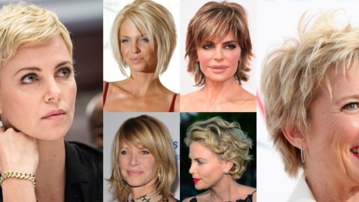 Taglio capelli corti donne quarantenni