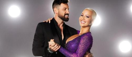 Amber Rose Gives Sneak Peek of First 'DWTS' Rehearsal - Us Weekly - usmagazine.com