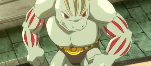 Machoke es un pokémon de tipo lucha.