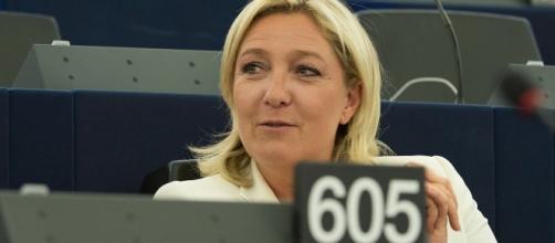 Marine le Pen - parlement européen - CC BY