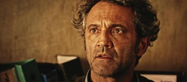 "Domingos Montagner era o protagonista na telenovela ""Velho Chico""."