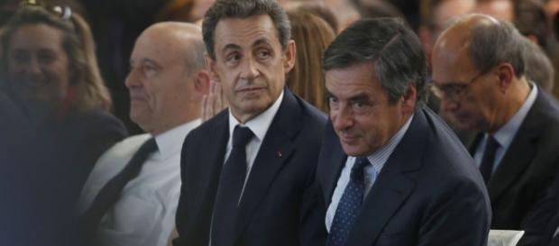 Nicolas Sarkozy et francois Fillon