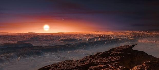Numită Proxima B, planeta stâncoasă ar putea avea condițiile propice pentru a găzdui viață