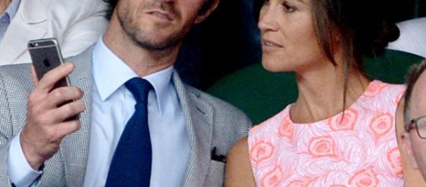 Kate Middleton e James Matthews / Reprodução Press Association via AP Images