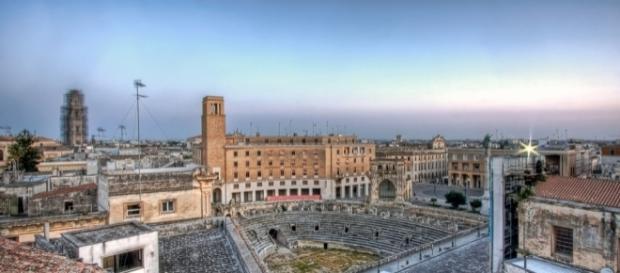 Un'immagine di Piazza Sant'Oronzo.