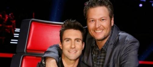 Are Blake Shelton And Adam Levine veterans of 'The Voice'. Photo: Blasting News Library - inquisitr.com