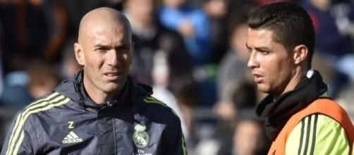 Cristiano Ronaldo ficou visivelmente descontente