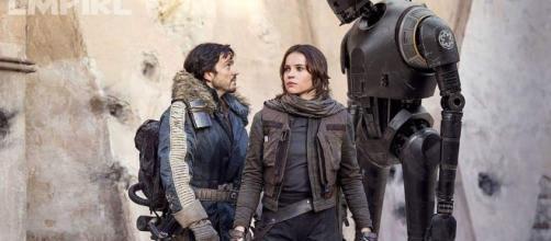 'Rogue One: A Star Wars Story': attesa per l'uscita del film.