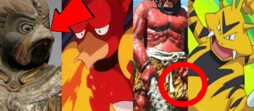 Magmar y Elektabuzz entre otros pokémon están inspirados en personajes mitológicos.