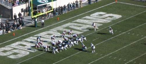 Spartan Stadium in East Lansing, home of the Michigan State football team. Photo c/o Wikimedia Commons.
