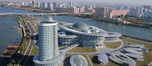Arquitetura moderna na Coreia do Norte