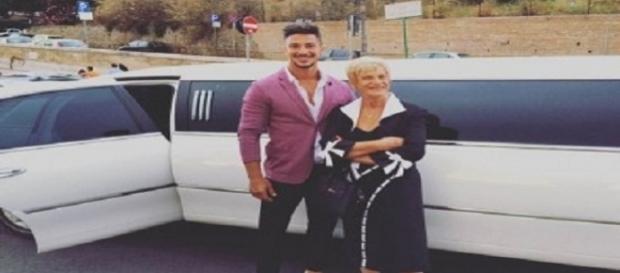 Emanuele Bruno e nonna Lina nel programma di Rai 4