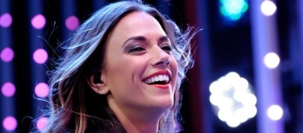 Singer and current 'DWTS' season 23 competitor Jana Kramer is currently coping with a rib injury. Justin Higuchi/Wikimedia Commons