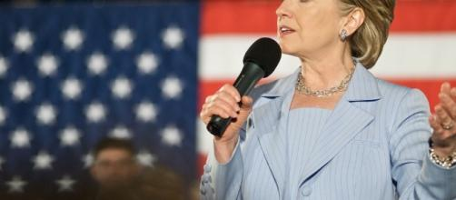 Hillary Clinton Speaks at a Presidential Primary Rally in Raleigh, NC in 2008 / Keith Kissel, Flickr