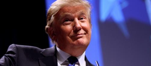 Il candidato repubblicano Donald Trump