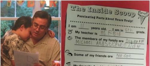 Il toccante post del padre del bambino autistico.