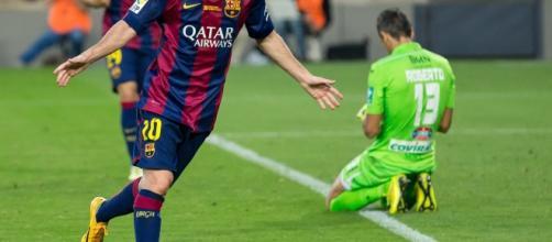 Messi se ve eclipsado por Neymar en su ausencia por lesión