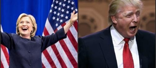 primo dibattito televisivo tra clinton e trump