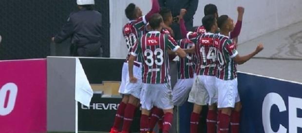 Depois de vencer o Corinthians, Flu só se reapresenta na quarta (Foto: Globoesporte)