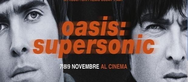 Oasis: Supersonic dal 7 novembre al cinema