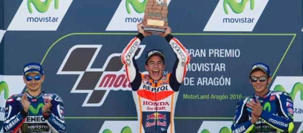 segundo triunfo de Marc Márquez en el trazado de Alacañiz