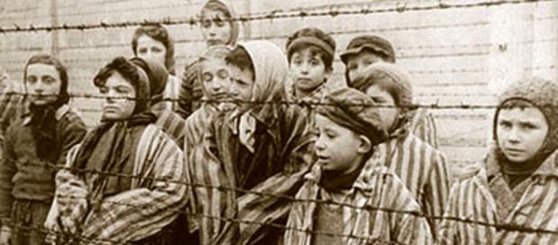 Un'mmagine dei campi di concentramento