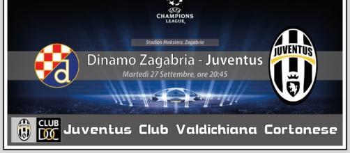 LIVE / Dinamo Zagabria-Juventus, cronaca DIRETTA e risultato in tempo reale, oggi martedì 27 settembre 2016