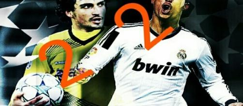 Partido entre Real Madrid y Borussia