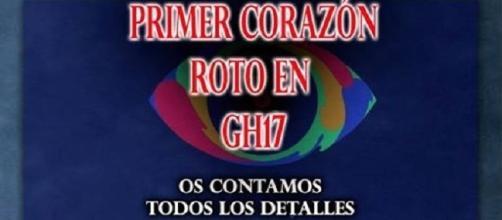 Primera ruptura en GH 17, vídeo en la noticia