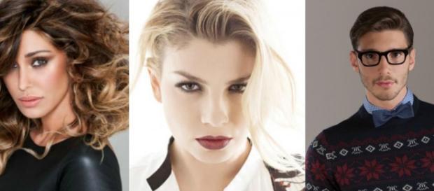 Belen Rodriguez : Il trio Belen, Emma e Stefano - emma marrone ... - melty.it