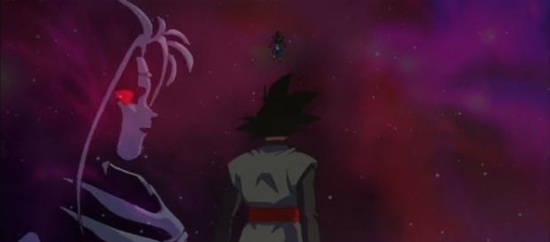 Black y Zamasu en Dragon Ball Super
