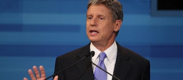 Gary Johnson, candidato presidente degli Stati Uniti per il Partito Libertariano
