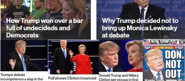 Le NYP a soutenu Trump lors de la primaire, émet à présent de fortes réserve, mais considère qu'il reste dans la course