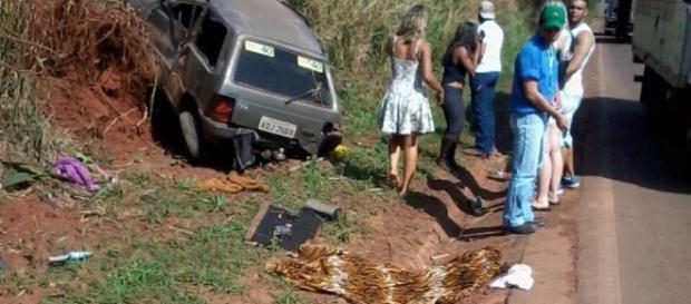 Menina morre em acidente de trânsito