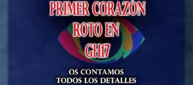 Primera ruptura en GH 17, vídeo en la noticia