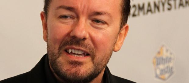 Ricky Gervais weight loss stunners. Wikimedia user Thomas Atilla Lewis