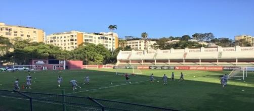 Após folga de dois dias, Fluminense inicia preparação para encarar o Sport (Foto: NCB-Fluminense)