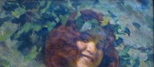 """""""Baccante"""" di Arturo Noci, 1901"""