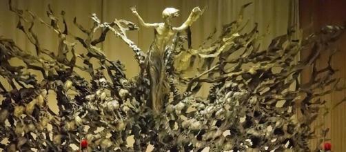 """""""Resurezzione"""" por el escultor italiano Pericle Fazzini"""