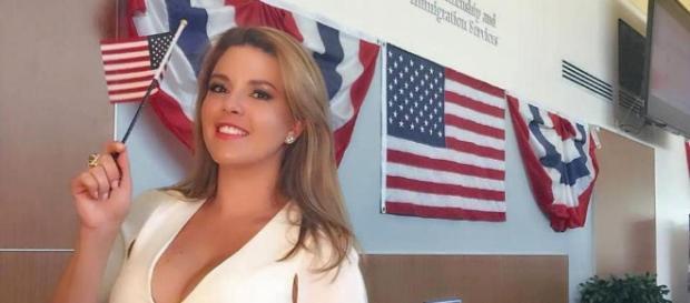 Alicia Machado adquiere nacionalidad estadounidense