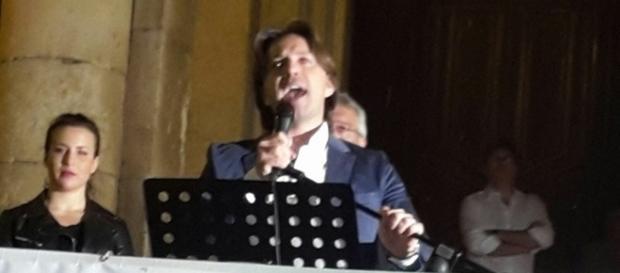 Corrado Figura, leader della coalizione Noto Bene Comune