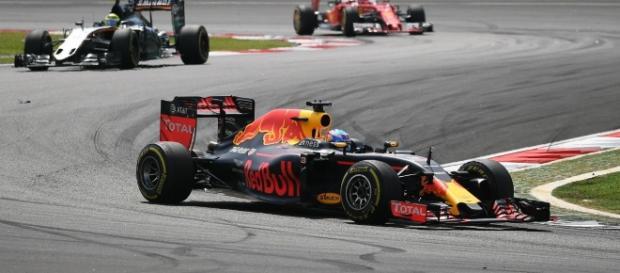 Daniel Ricciardo durante el Gran Premio de Malasia. OK Diario