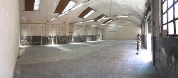 """Il capannone dei Cantieri Culturali, nuova sede della """"Haus der Kunst"""""""