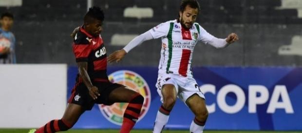 No Chile, o Flamengo venceu o Palestino por 1 a 0 e agora só precisa de um empate para se classificar.