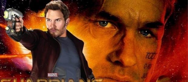 Podría ser Kurt Russell el padre de Star-Lord