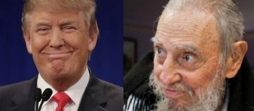 Donald Trump, Fidel Castro, via YouTube