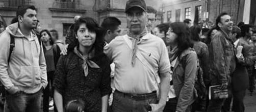 Familias marcharon por la causa. Mitzi Vera