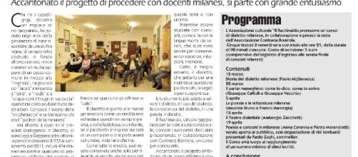 L'assessore alla cultura della Regione Lombardia vuole finanziare le scuole che insegnano il dialetto (Foto di repertorio)