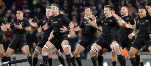 La tradizionale 'haka' degli All Blacks, gli italiani dovranno accontentarsi di vederla ancora in TV