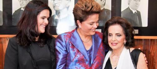 Mãe de Dilma ainda não sabe do mandato cassado da filha